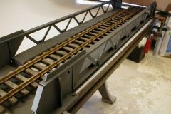 Detail konstrukce padacího mostu
