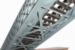 Konstrukce diagonalního mostu