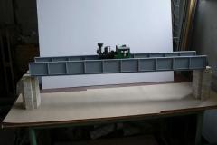 Plnostěnný ocelový most
