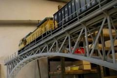 Příhradový obloukový most 2m