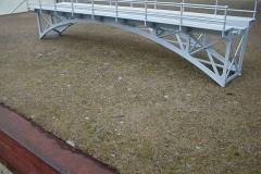 Příhradový obloukový most 800mm