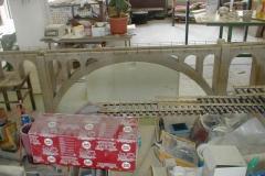 Sestava viaduktu z pískovce