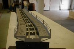 ocelový most ve tvaru S
