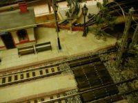 Zahradní železnice - nástupiště z pískovce