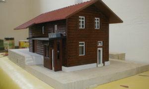 Zahradní železnice - nádraží